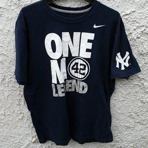 Nike One Mo Legend Yankees Mariano Rivera Shirt XL